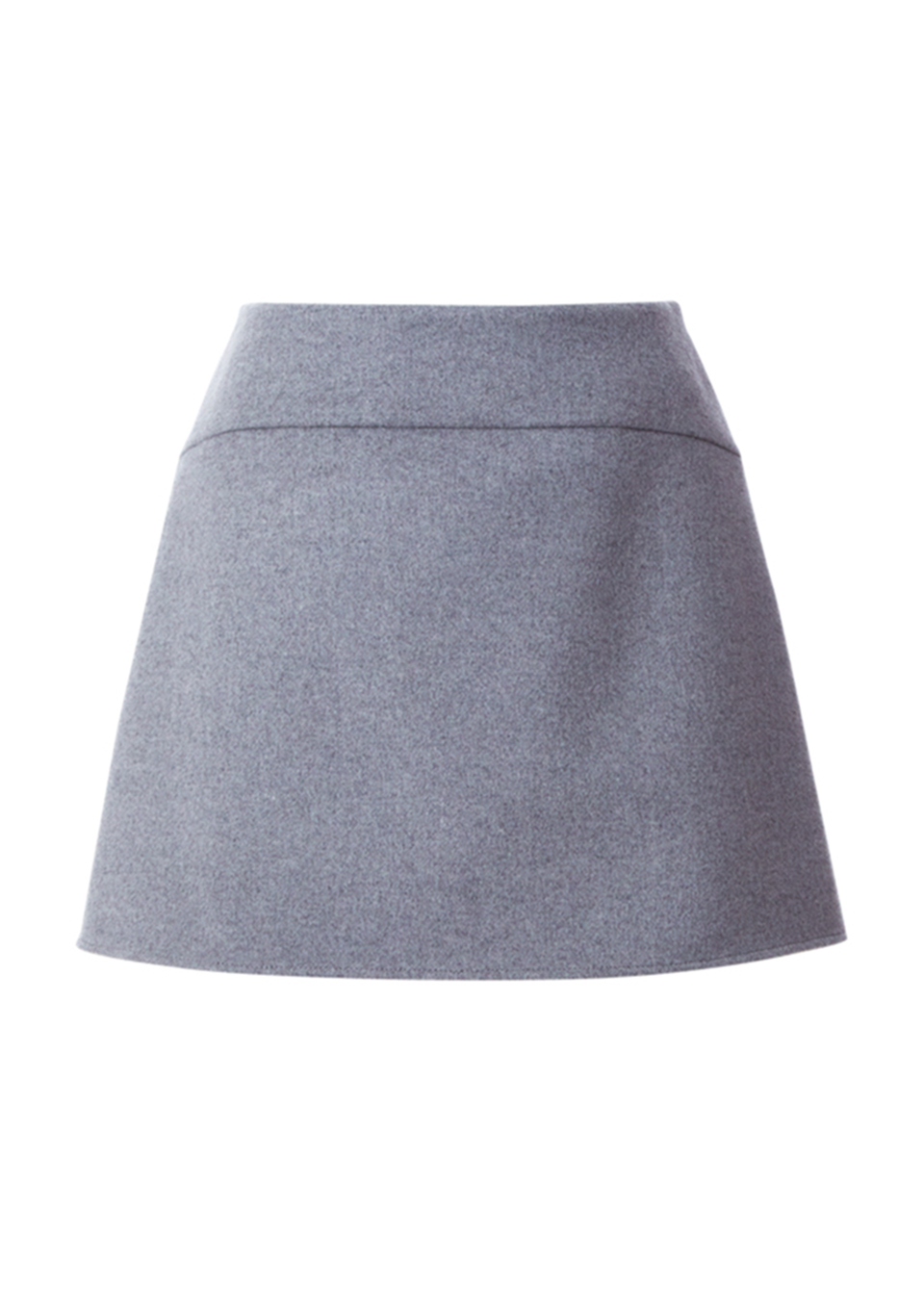 WOOL MINI SKIRT(38)