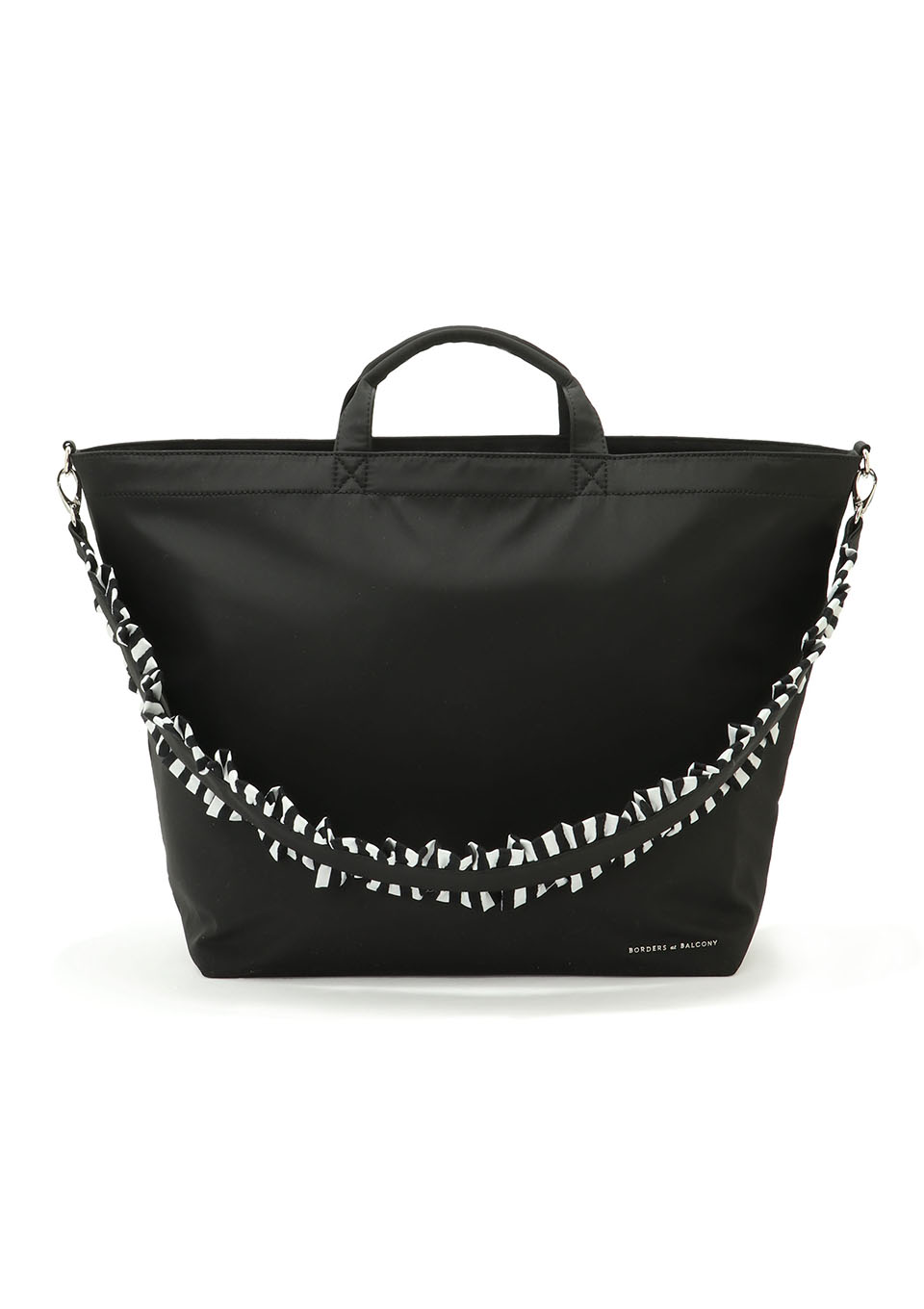 CITY POLLY FRILL STRAP TOTE